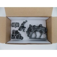Figurine MHSP Atlas Laquait + horse hitch + rudder N ° 05