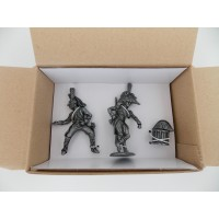 Figurine MHSP Atlas Dragon 25e Rgt + Maréchal Murat + Bicorne de l'Empereur