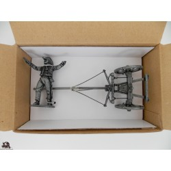 Figurine MHSP Atlas Général Lasalle + Train d'attelage N°09