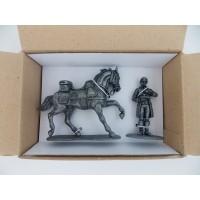 Figurine MHSP Cheval Cavalerie + Valet de chambre de l'Empereur