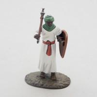 Altaya uomo figurina VIII secolo carolingia a piedi