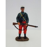 Corporal de Hachette legionario estatuilla de RE 1, 1887