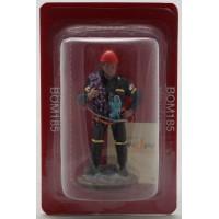 Nella figura del Prado pompiere paramedico Belgio 2006 vestito
