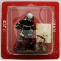 Figurine Del Prado Sapeur Pompier tenue de feu France 2012