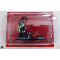 Vigile del fuoco del Prado Sapper lavorare Parka Francia 2010 abito figurina