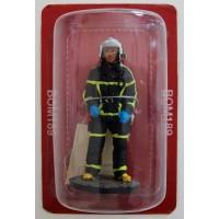 Figurine Del Prado Sapeur Pompier Tenue de feu Belgique 2011