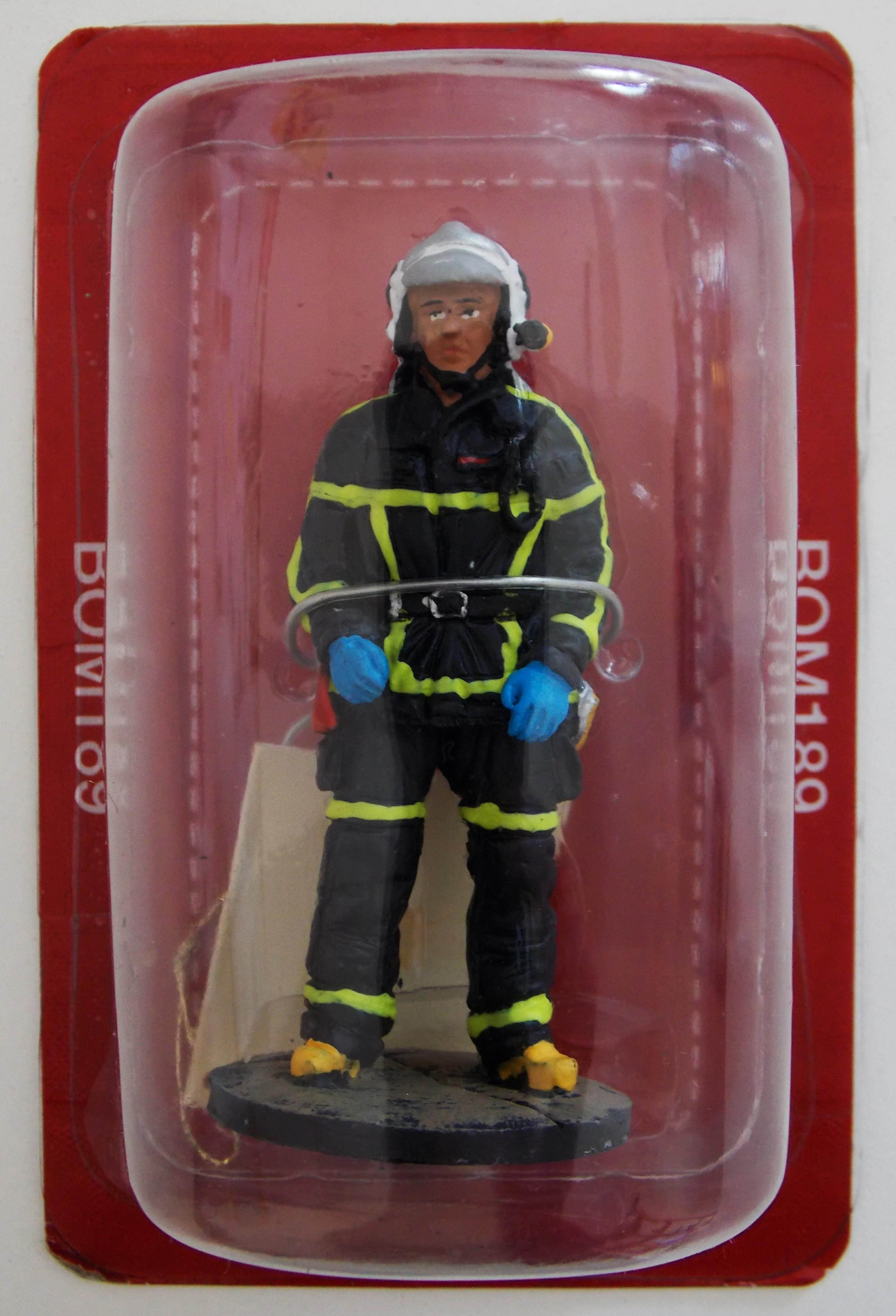 Les Franc tenue de feu Figurine d/'un pompier Figurine pompier Soldats du feu
