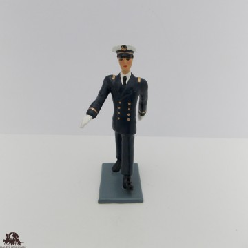 Figurine di CBG Mignot ufficiale Bagad Lann Bihoue outfit invernale