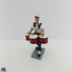 CBG Mignot timpani Bagad Lann Bihoue figurine