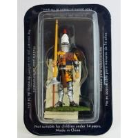 Figurita Altaya hombre de armas francés del siglo 13