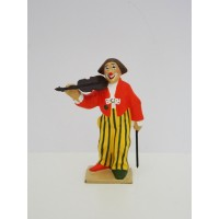 CBG Mignot Clown Musician with violin