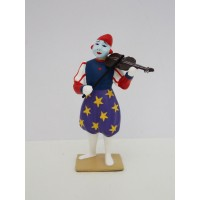 CBG Mignot Clown Accordion Musician
