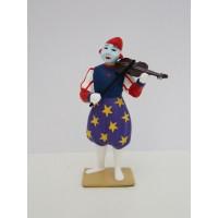 CBG Mignot Clown Musicien Violon