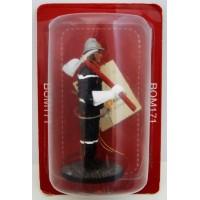 Figurine Del Prado Pompier Tenue de garde drapeau France 2012
