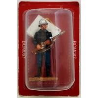 Fuoco di vigile del fuoco del Prado tenuto figurina Belgio 2011 Sapper