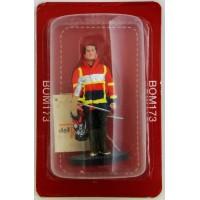 Figurine Del Prado Sapeur Pompier Tenue d'épuisement Aisne 2011