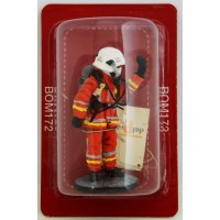 Figurine Del Prado Sapeur Pompier Tenue de feu France 2003