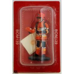 Figure Del Prado Firefighter Heat Stress Trainer France 2011