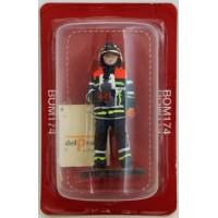 Figurine Del Prado Sapeur Pompier Tenue de feu Belgique 2013