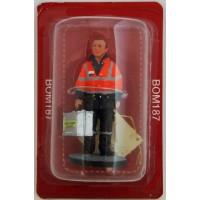 Figurine Del Prado Sapeur Pompier Tenue d'ambulancier Belgique 2006