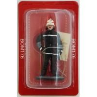 Figurine Del Prado Sapeur Pompier Tenue de feu Berlin-Ouest Allemagne 1989