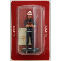 Figurine Del Prado Sapeur Pompier Tenue de Travail Toulon 1985