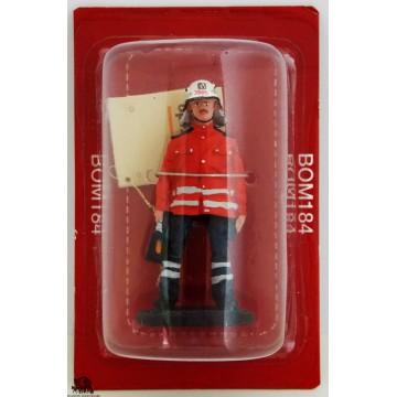 Figure Del Prado Firefighter Firefighter Dress Health Work Germany 2006