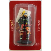 Figurine Del Prado Pompier Investigateur du groupe d'exploration lingue durée France 2011
