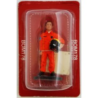 Figure Del Prado Firefighter Sapper Fire Outfit Paris 1982