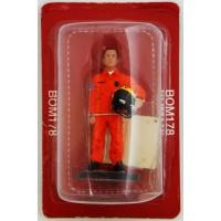 Figurine Del Prado Sapeur Pompier Pilote d'Hélicoptère France 2013
