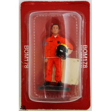 Figure Del Prado Firefighter Pilot Helicopter France 2013