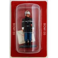 Figurine Del Prado Sapeur Pompier Tenue de feu Paris 1988