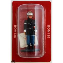 Figura Del Prado vigile del fuoco Sapper Fire Outfit Parigi 1988