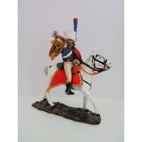 Figurina Del Prado ufficiale personale inglese 1815