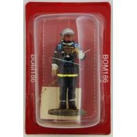 Figurine Del Prado Sapeur Pompier Sous officier Tenue de feu France 2000