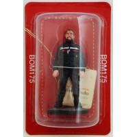 Figurine Del Prado Sapeur Pompier Teneu de travail fédérale Belgique 2013