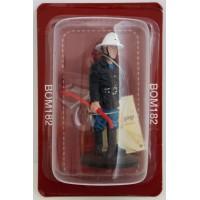 Figurine Del Prado Sapeur Pompier Tenue de feu Bruxelles Belgique 1976
