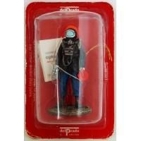 Figurine Del Prado Pompier Tenue de feu GREP France 1978
