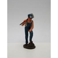 Figurine Del Prado Salutist in uniform
